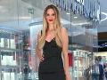 Bývalá miss Veronika Husárová vyzerala očarujúco.