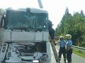 PRÁVE TERAZ Za tunelom Horelica v smere do Žiliny sa zrazili kamióny, cestu uzavreli
