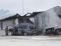 Opitý muž narazil do pumpy: Pri následnom požiari zahynula predavačka