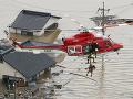 Japonsko zažíva najhoršiu tragédiu za posledné roky: Počet obetí záplav stúpol na sto