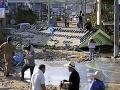 Dážď ustáva ale počet obetí sa zvyšuje: FOTO Japonsko sa pomaly spamätáva z katastrofy