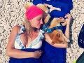 Ľubica Štepánová si momentálne užíva dovolenku v Chorvátsku.