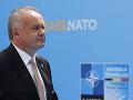 Prezident Andrej Kiska na summite NATO v Bruseli.