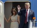Melania Trumpová ignoruje chýry o manželovej nevere: Rozmýšľam o dôležitých veciach, hovorí