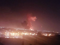 VIDEO Letisko v Káhire ochromil výbuch a požiar: Hlásia 12 zranených
