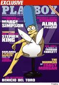 Marge Simpson na obálke novembrového Playboya
