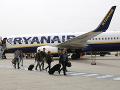 Problémy Ryanairu narastajú: 96 percent nemeckých pilotov hrozí štrajkom