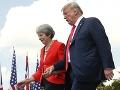 Theresa Mayová a Donald