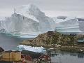 V Grónsku hrozí katastrofa: K dedine sa blíži obrovský ľadovec, toto sa môže stať