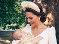 Oficiálne zábery z krstu princa Louisa.