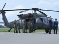 Odovzadanie dvoch vrtuľníkov UH-60M