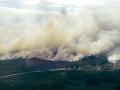 Lesné požiare vo Švédsku naďalej vyčíňajú: Hasiči informujú, že situácia je stabilná