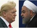 Donald Trump a Hassan Rouhani