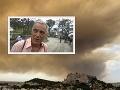Dráma pri úteku pred plameňmi v Grécku: Strach o životy, požiar ich donútil k odvážnemu činu