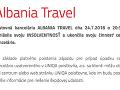 Popradská cestovná kancelária Albania Travel skrachovala.