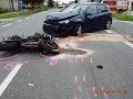 FOTO Vážne nehody motorkárov pri Senici a Hlohovci: Polícia apeluje na bezpečnosť