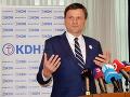 Hlina: OĽaNO zakázalo v Bratislave koalície s KDH, lebo nominujeme C. Líškovú