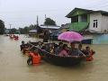 V Mjanmarsku vládne napätie: Obrovské povodne vyhnali z domov 50 000 ľudí