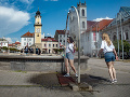 ONLINE Slovensko zápasí s horúčavami: Mestá prijali opatrenia, pripravte sa na ešte väčšie peklo
