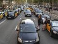 V španielskych mestách kolabuje doprava: FOTO Taxikári protestujú vo veľkom štrajku