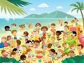 FOTO Diabolská hádanka: Pláž plná detí, nájdete na nej identické dvojičky?