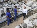 Bilancia ničivých záplav v Tatrách, miliónová škoda: FOTO Kiska navštívil zasiahnuté obce