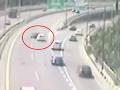 Šialená jazda po bratislavskom moste: VIDEO Pri vodičovi stáli všetci svätí
