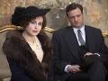 Helena Bonham Carter a Colin Firth v Kráľovej reči