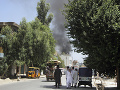 Samovražedný bombový útok v