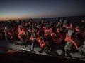 Smutné štatistiky Líbyjskej pobrežnej stráže: Tento rok objavili približne sto tiel migrantov