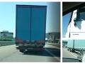 Kamión na diaľnici