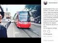 Mario Cimarro sa na Instagrame pochválil, že je v Bratislave.
