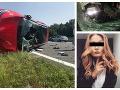 Hrdinská pomoc Slovákov: FOTO Do dvojice Čechov na chorvátskej diaľnici vpálilo auto, Nikola prehovorila