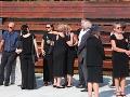 Posledné  zbohom dali hercovi pozostalí v Bratislavskom krematóriu.