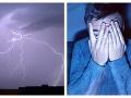 VIDEO z nočnej svetelnej šou: Búrka na východe Slovenska priniesla tisícky bleskov