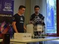 FOTO Slovenskí študenti predvedú na svetovej súťaži robota: Aurel bojuje za čistú energiu