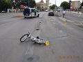 Pri dopravnej nehode v Michalovciach zomrelo 6-ročné dievčatko.
