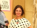 Mama zo seriálu Naši Lujza Garajová Schrameková na párty TV JOJ.