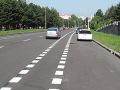 FOTO Nespokojná Cyklokoalícia v Bratislave: Veľká kritika označenia pruhov v Lamači