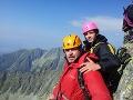 Matej Landl má tradíciu, že prvý augustový týždeň chodieva do Tatier, kde zdolá niektorý 2000 m štít.