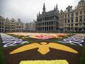 Kvetinový koberec v Belgicku