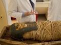 Infračervená technológia odhalila na egyptských múmiách skryté tajomstvo