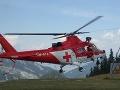 Hororový pád maďarského paraglajdistu (65) v Tatrách: Rýchly zásah leteckých záchranárov