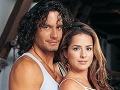 Mario Cimarro a Danna García v telenovele Skrytá vášeň.