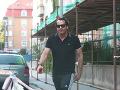Mario Cimmaro už dva týždne dovolenkuje v Bratislave.