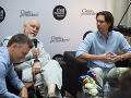 John Malkovich na tlačovej konferencii.