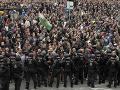 V nemeckom Chemnitzi sa napätie dá krájať: Začali sa demonštrácia i fórum