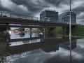 FOTO Potopa po búrke v Bratislave: Počasie sa nezmení, pohroma sa môže opakovať