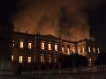 Brazílsky prezident prisľúbil pomoc pre zdevastovanú pamiatku: Požiar prežila jediná vec