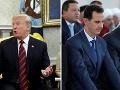 Trump dôrazne varoval Asada: Neútočte na civilistov v poslednej bašte povstalcov
